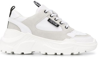 Versace Chunky Sole Low Top Sneakers