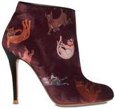Camilla Elphick 105mm Raining Cats & Dogs Velvet Boots