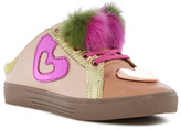 Ivy Kirzhner Sweets Genuine Rabbit Fur Pompom Slip-On Sneaker