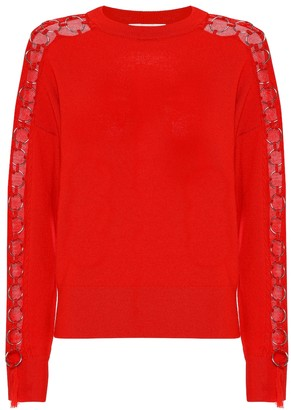 Jonathan Simkhai Embellished wool sweater