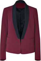 Ruby/Black Tuxedo Jacket
