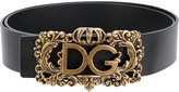 Dolce & Gabbana framed logo buckle belt