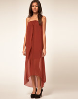 Dipped Hem Dress