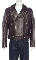 Gianfranco Ferre Leather Moto Jacket