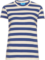 MiH Jeans Range short-sleeved striped cotton T-shirt