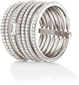 Folli Follie Fashionably silver stack ring