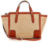 Dooney & Bourke Ostrich Collection Small Shopper