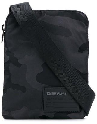 Diesel pocket messenger bag