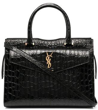 Saint Laurent Alligator Effect Tote Bag
