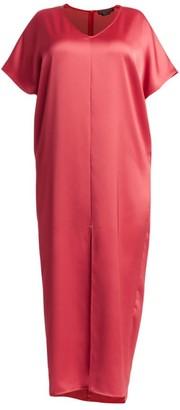 Marina Rinaldi Marina Rinaldi, Plus Size Elegante Domanda Satin Maxi Dress