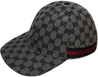 Gucci Black Cloth Hats & pull on hats