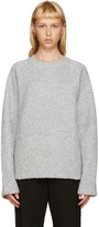 Acne Studios Grey Wool Cassie Pullover