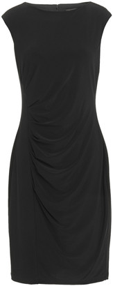 DKNY Draped Stretch-jersey Dress
