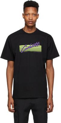 Carhartt Work In Progress Black Horizon Script T-Shirt