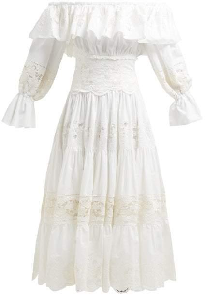 d6c9876fa4 Dolce & Gabbana White Dresses - ShopStyle