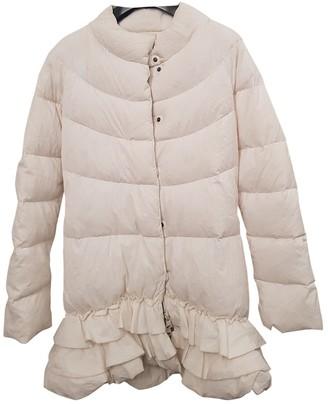 Ermanno Scervino White Coat for Women
