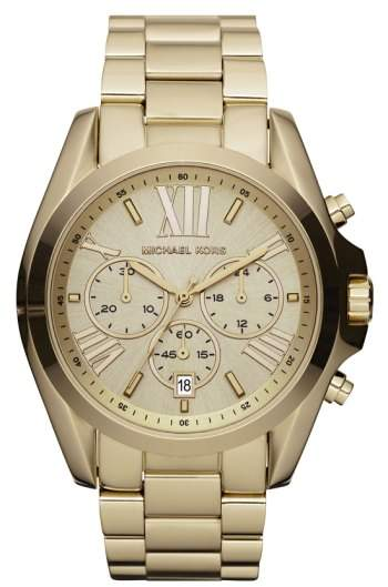 Michael Kors Women's 'Bradshaw' Chronograph Bracelet Watch, 43Mm