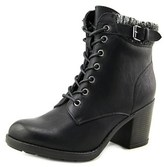 Mia George Round Toe Synthetic Ankle Boot.