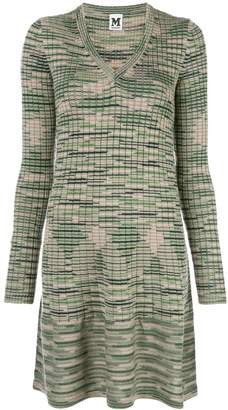 M Missoni v-neck sweater dress