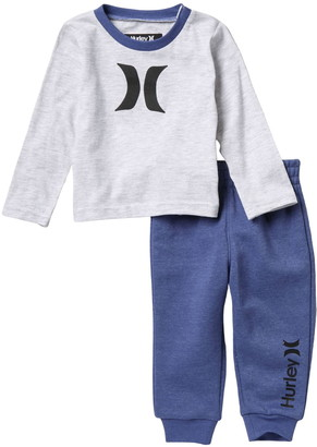 Hurley T-Shirt & Joggers 2-Piece Set