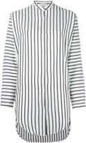 Studio Nicholson striped tunic shirt