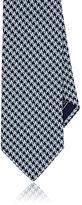 Brioni Men's Neat-Geometric-Pattern Silk Necktie