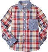 Masala Neat Shirt Bold Check (Toddler/Kid) - Multicolor-3 Years