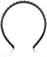Valentino Embellished satin headband