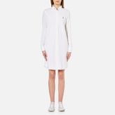 Polo Ralph Lauren Women's Oxford Shirt Dress White