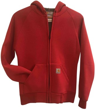 Carhartt Red Cotton Jacket for Women