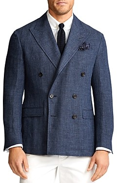 Polo Ralph Lauren Herringbone Double-Breasted Sport Coat