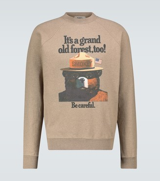 Phipps Smokey Bear graphic sweatshirt