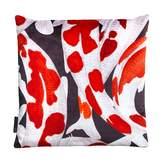 Arlette Ess Koi I Style 2 Red & White Velvet Cushion