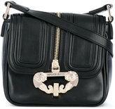 Versace zip detail satchel - women - Polyester/Synthetic Resin - One Size