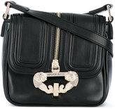 Versace zip detail satchel