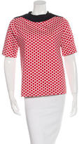 Marni Short Sleeve Polka Dot Top