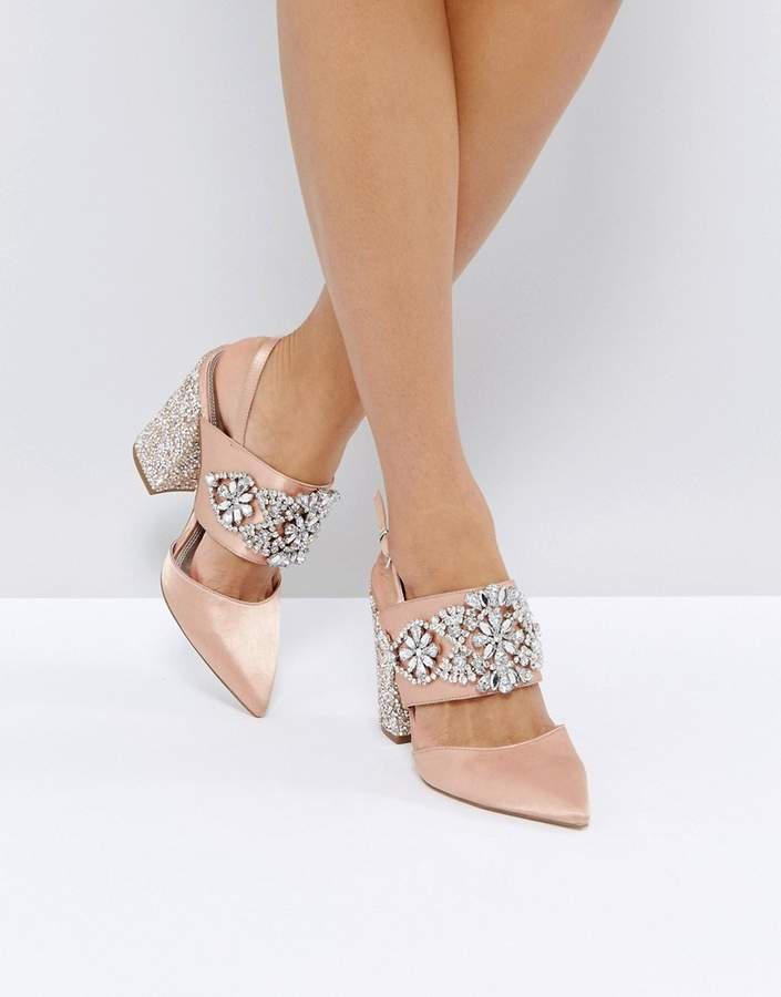 Asos Design PERFECT COMBO Bridal Embellished Heels