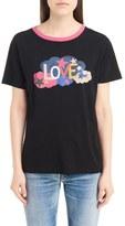 Saint Laurent Women's Love Graphic Cotton Tee