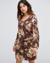 Vero Moda Juliet Floral Dress In Red