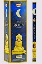 Hem The Moon Incense Sticks- Use for Meditation- Relaxation- Air Freshener- 25 Boxes- 8 Sticks Per Box- 200 Sticks Total