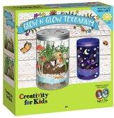 Creativity For Kids GROW N' Glow Terrarium Set