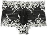 Wacoal Embrace Black Lace Boy Shorts
