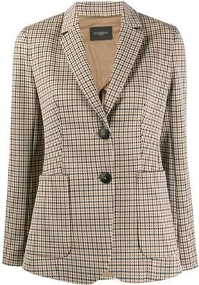 Antonelli hounds-tooth tailored blazer