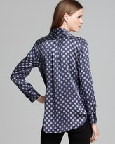 Equipment Shirt - Keira Country Filigree Floral Print