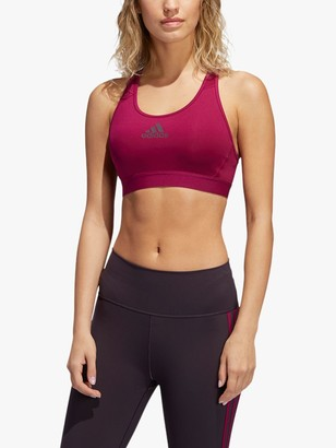 adidas Don't Rest Alphaskin Sports Bra, Power Berry