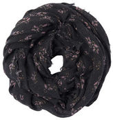 Rebecca Taylor Shadow Floral Scarf