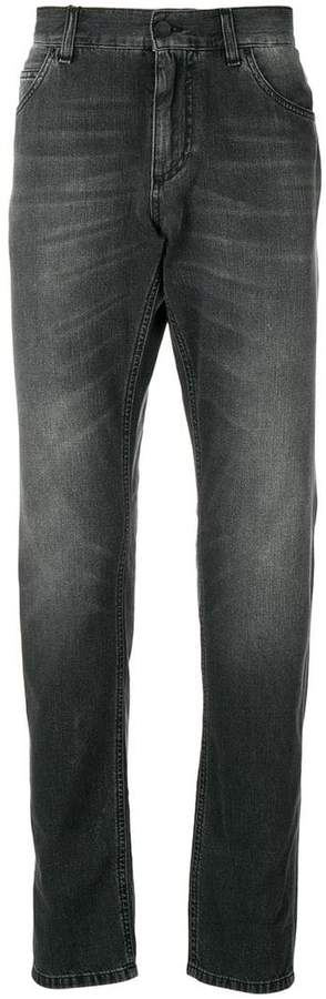 Dolce & Gabbana slim faded jeans