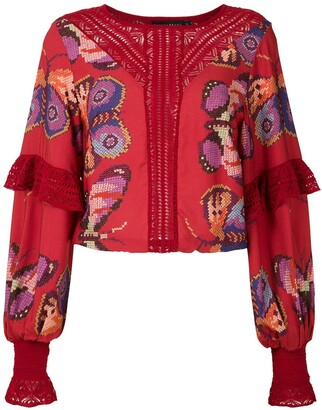 Cecilia Prado printed Micaela blouse