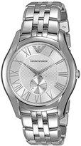 Emporio Armani Men's AR1788 Dress Silver Watch