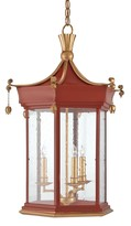 The Well Appointed House Currey & Company Mandarin Lantern - LOW STOCK